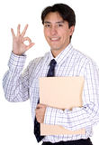 Business man - good job Stock Photography