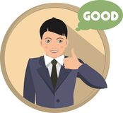 Business man good Royalty Free Stock Images