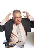 Business man  got a problem Stock Image