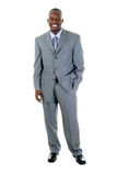 Business Man in Gray Suit 1