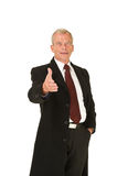 Business man greeting Royalty Free Stock Photo