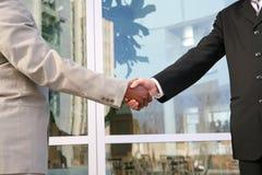 Business Man Hadshake Royalty Free Stock Images