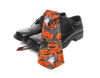 Business Man Halloween Tie Stock Photos