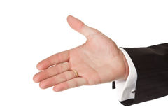 Business man hand Royalty Free Stock Images