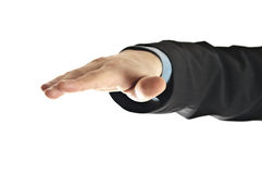 Business man hand Royalty Free Stock Image