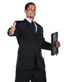 Business man handshake Stock Image
