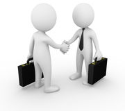 Business man handshake Stock Images