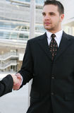 Business Man Handshake Royalty Free Stock Photography