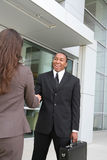 Business Man Handshake Royalty Free Stock Photo