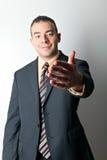 Business Man Handshake Stock Photo