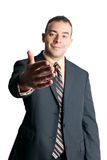 Business Man Handshake stock photo