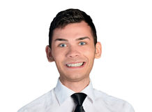 Business man happy face Stock Photo