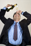 Business Man Having Fun At A Party Stock Image