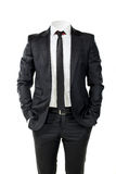 Business man without head Royalty Free Stock Photography