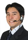 Business man with headset Stock Photography