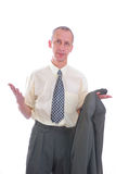 Business man help expression Royalty Free Stock Photography