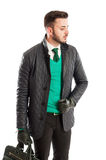 Business man with high fashion sense Stock Photos