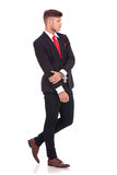 Business man holding hand Royalty Free Stock Images
