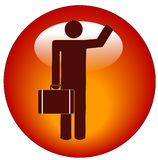 Business man icon Stock Image