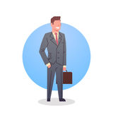 Business Man Icon Boss Team Leader Occupation Stock Images