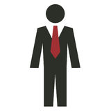Business Man Icon Royalty Free Stock Images