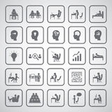 Business man icon Royalty Free Stock Photography