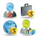 Business Man Icons - Super Render Stock Photo
