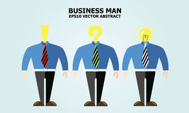 Business Man idea Stock Photos