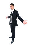 Business man isolated Stock Photography