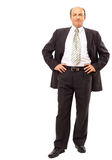 Business man isolated on white Royalty Free Stock Photos