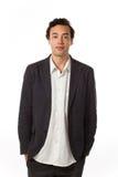 Business man, isolated on white background Stock Photo