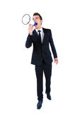 Business man isolated Stock Images