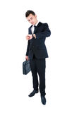 Business man isolated Royalty Free Stock Photography