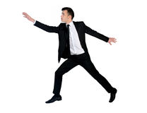 Business man jump Royalty Free Stock Photography