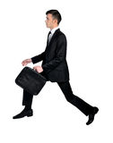 Business man jump up Royalty Free Stock Image