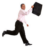 Business man jumping Royalty Free Stock Photography