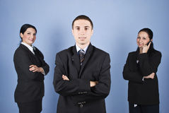 Business man leader Stock Images