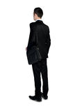 Business man looking back Royalty Free Stock Images
