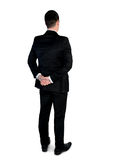 Business man looking back Stock Photography