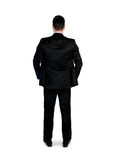 Business man looking back Stock Images