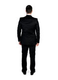Business man looking back Royalty Free Stock Photos