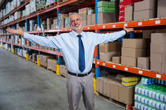 Business man looking the camera Royalty Free Stock Photo