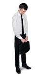 Business man looking down Stock Photography