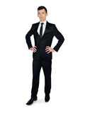 Business man looking serious Stock Image