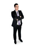 Business man looking side Stock Photography