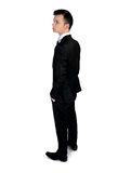 Business man looking side Stock Images