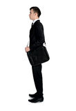 Business man looking up Royalty Free Stock Image