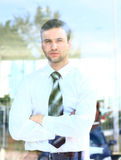 Business man looking Royalty Free Stock Photos