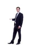 Business man making a presentation Royalty Free Stock Photos