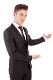 Business man making presentation Royalty Free Stock Photography